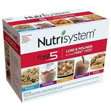 fast5 nutrisystem
