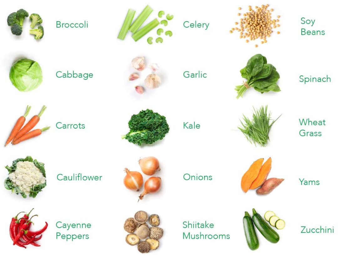 Balance of Nature Ingredients