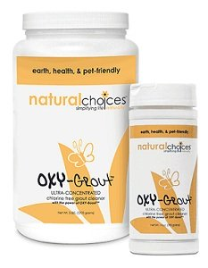 Oxy-Grout and Tile Organic Cleaning Products