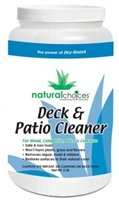 Deck Cleaner with Natural Choices